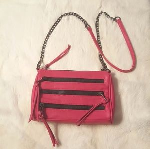Hot Pink Crossbody/Clutch Edgy Charming Charlie 👜